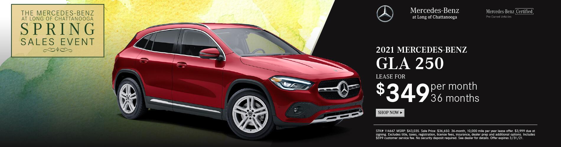 Mercedes-Benz Fresh Start Sales Event in Chattanooga